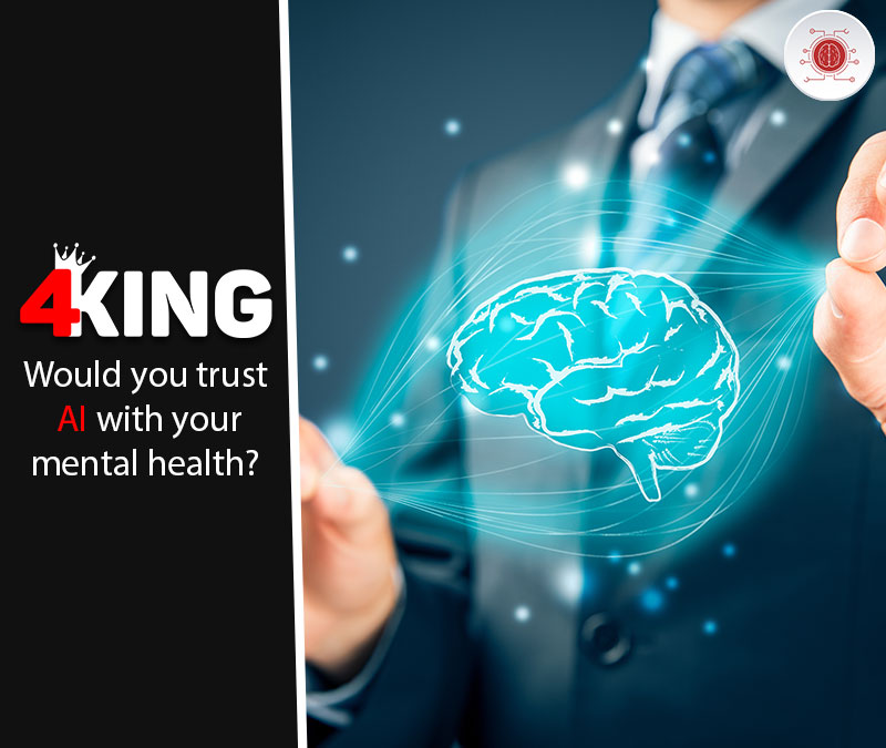 Would you trust AI with your mental health?