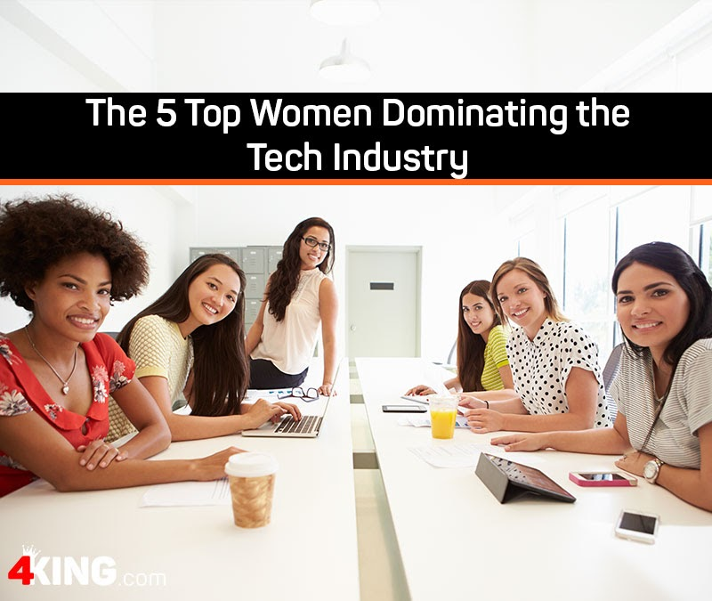 5 women dominating in tech