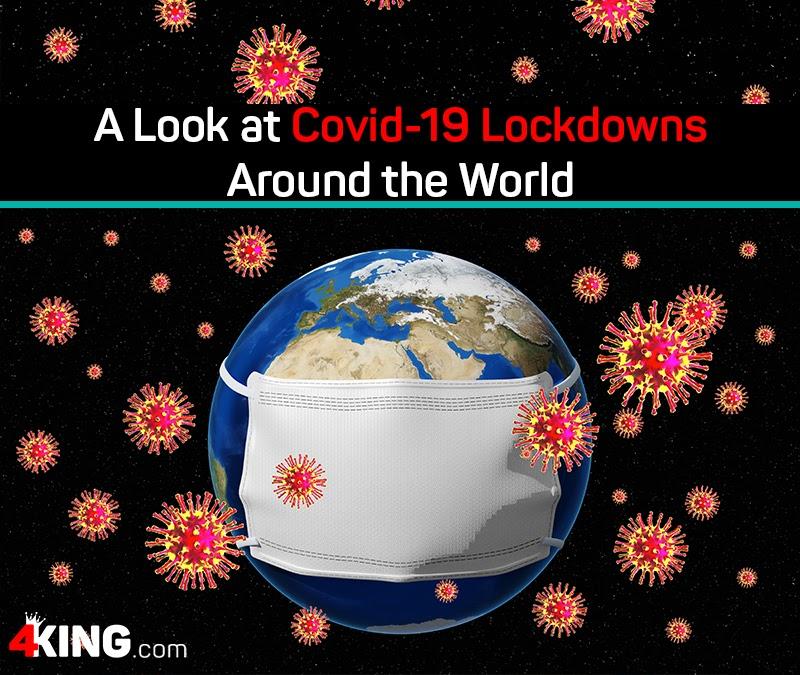 Covid-19 lockdowns around the world