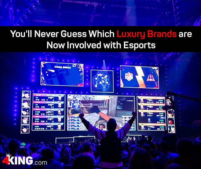 luxury brands are now involved with esports