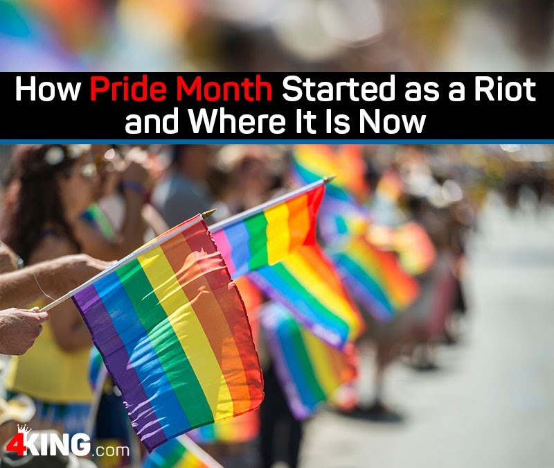 how Pride Month started as a riot