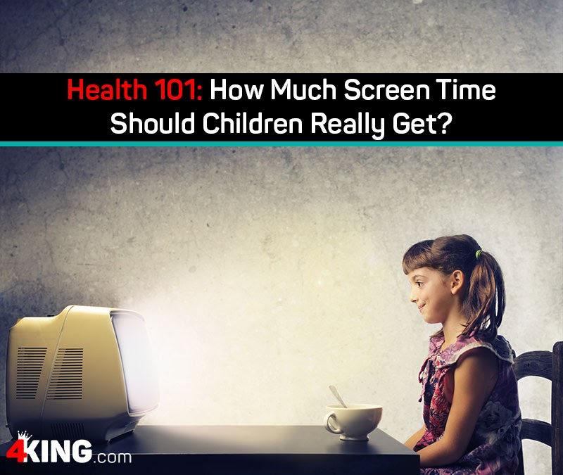 how much screen time should children really get