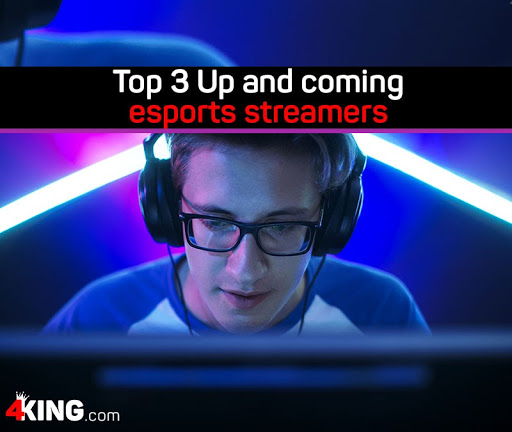 top 3 up and coming esports streamers