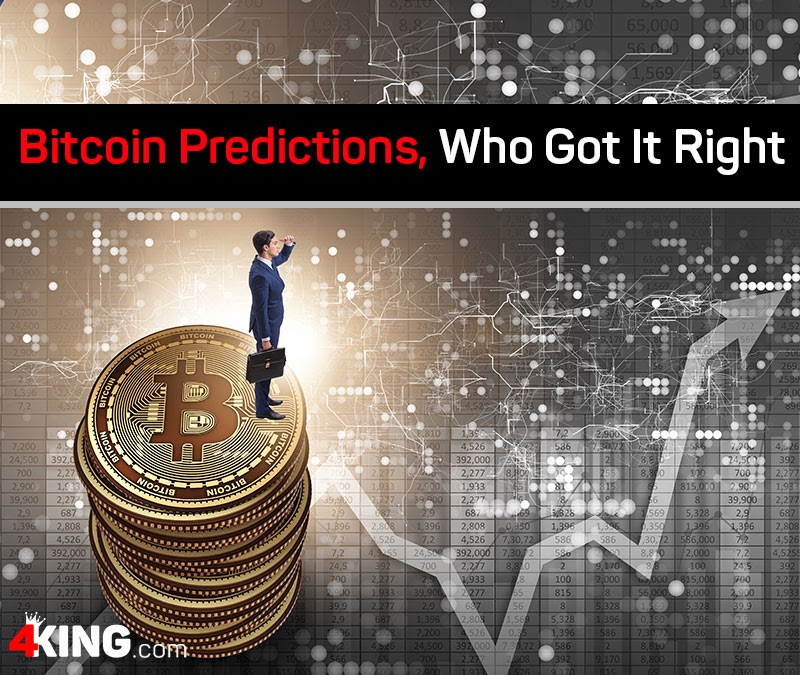 Bitcoin predictions, and who got it right