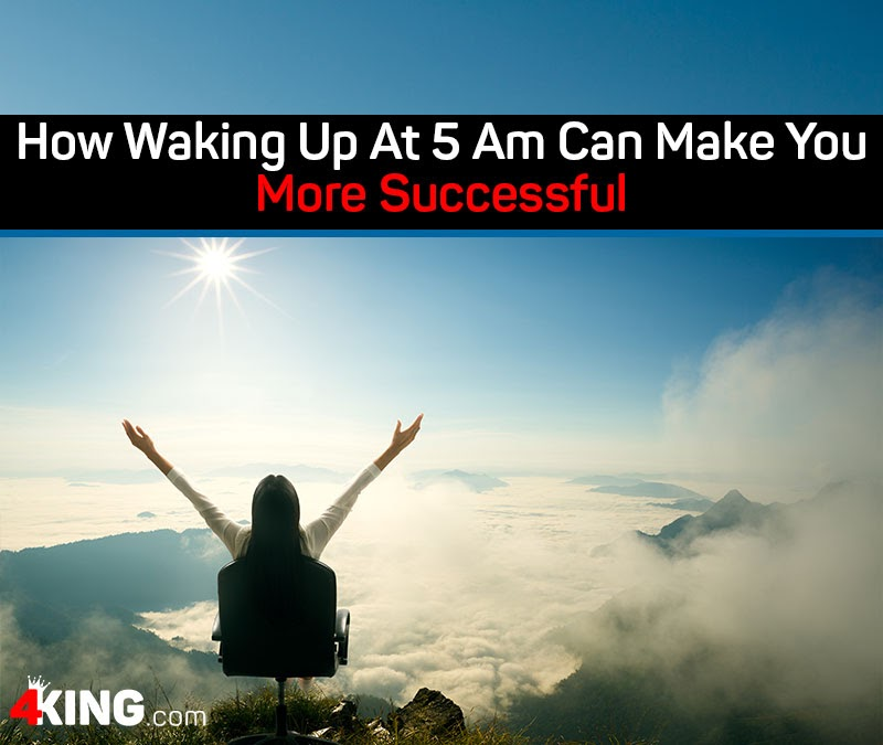 How Waking Up At 5 Am Can Make You More Successful