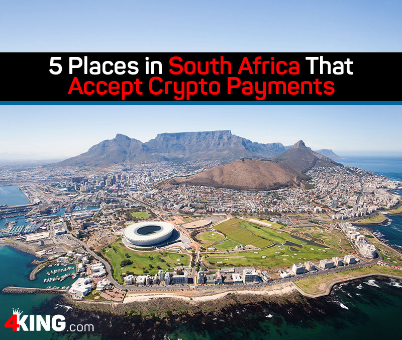 5 Places in South Africa That Accept Crypto Payments
