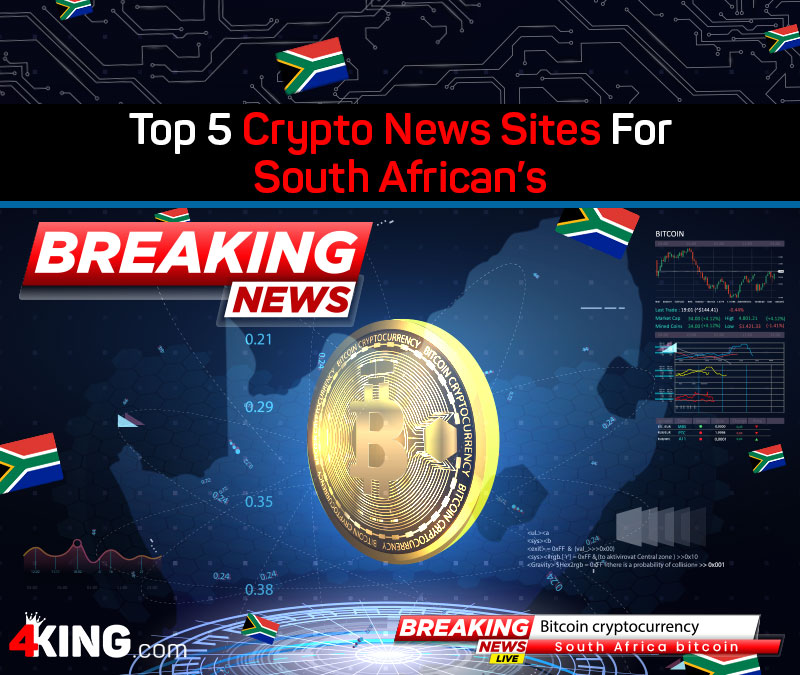 Top 5 Crypto News Sites For South African's